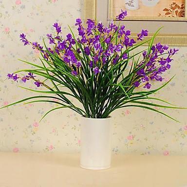 Künstliche Blumen 1 Pastoralen Stil Pflanzen Tisch-Blumen / Nicht enthalten