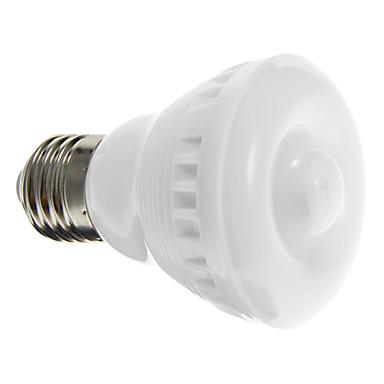 2W 90-120 lm E26/E27 LED Spot Işıkları A60(A19) 12 led SMD 5050 Sensör Sıcak Beyaz Serin Beyaz AC 220-240V