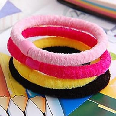 (3 piese) ridicat de culoare joker elastic și bomboane de bumbac rezistent, cu părul (culoare aleatorii)