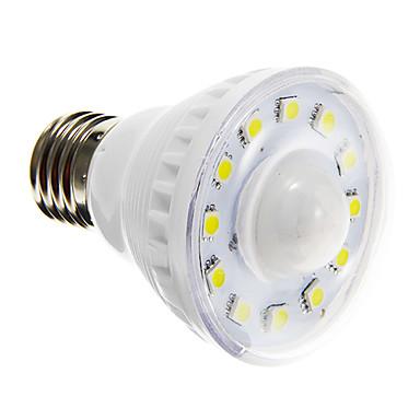 2W 85-150 lm E26/E27 LED Spot Işıkları A60(A19) 12 led SMD 5050 Sensör Sıcak Beyaz Serin Beyaz AC 220-240V