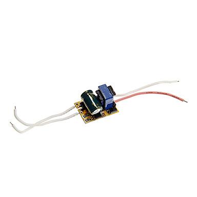 zdm® 1pc 85-265v источник питания для ламп 3w