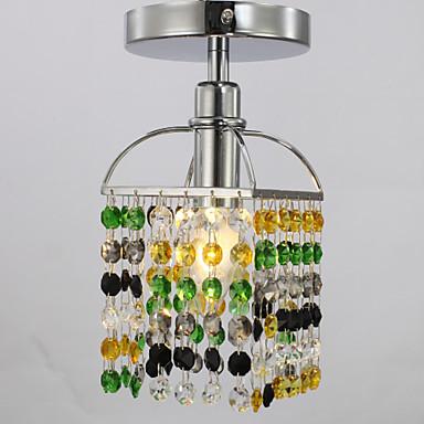SL® Modern / Zeitgenössisch Unterputz Raumbeleuchtung - Kristall, 110-120V 220-240V Glühbirne nicht inklusive