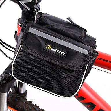 FietstasFietsframetas Waterdicht / Draagbaar / Telefoon/Iphone Fietstas 600D Polyester Fietstas Fietsen 14*17.5*9