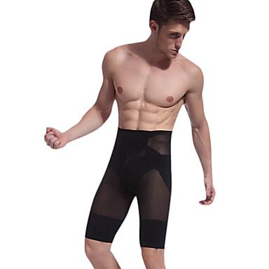 male butt-lifting kachelpijp vormgeven slanke vormgeving van het lichaam broek taille cincher nieuwe aankomst bodie katoen zwart ny025