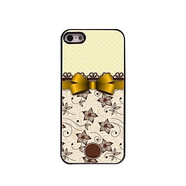 cadou personalizat Bowknot elegant carcasa de metal de design pentru iPhone 5 / 5s