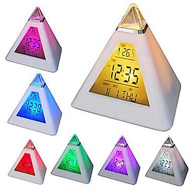 1pc LED-Nachtlicht Bildanzeige Batterie Wasserfest