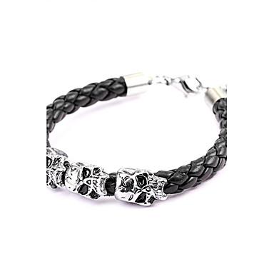Leder Drache Totenkopf Lederarmbänder - Armbänder Für Weihnachts Geschenke Party Alltag