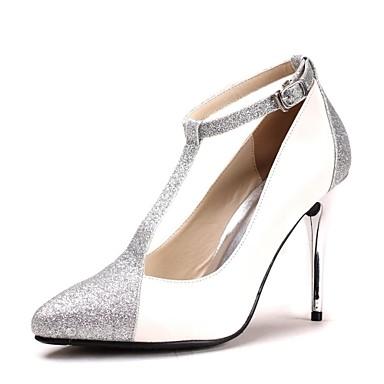 Dame - Pantofi de nunta - Tocuri / Vârf Ascuțit - Pantofi cu Toc - Nuntă - Albastru / Violet / Roșu / Argintiu / Auriu