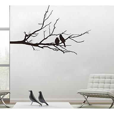 Landschaft Stillleben Romantik Mode Botanisch Wand-Sticker Flugzeug-Wand Sticker Dekorative Wand Sticker, Vinyl Haus Dekoration Wandtattoo