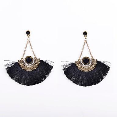 Damen Tropfen-Ohrringe - Strass, Diamantimitate Luxus Für Hochzeit Party Alltag