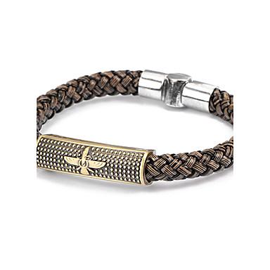 Leder Lederen armbanden - Uniek ontwerp Modieus Anderen Zwart Bruin Armbanden Voor Kerstcadeaus Dagelijks Causaal