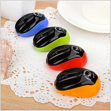 muisvormige handmatige puntenslijper (willekeurige kleur) voor school / kantoor