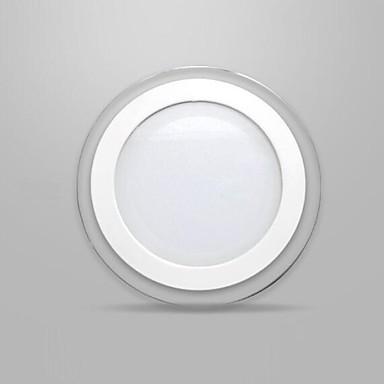 12W masca de sticlă rotund LED Panel lumina smd 5730 mini lampă de bucătărie condus lumini plafon AC85-265V