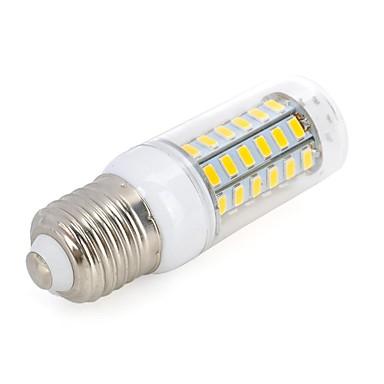 5.5W 500-300 lm E26/E27 LED Mais-Birnen T 56 Leds SMD 5730 Warmes Weiß Kühles Weiß Wechselstrom 220-240V
