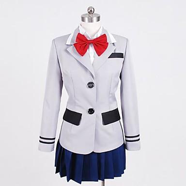 Inspirat de Tokyo Ghoul Kirishima Touka Anime Costume Cosplay Costume Cosplay Peteci Cămașă / Vârf / Fustă Pentru Pentru femei