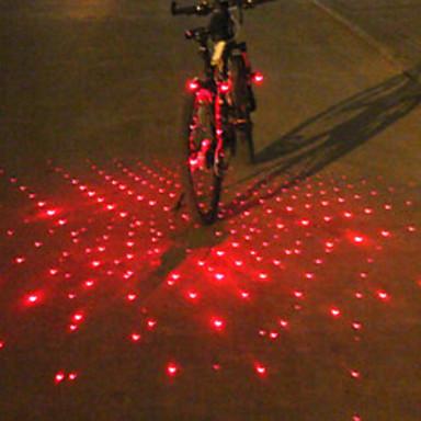 Lumini de Bicicletă / lumini de capăt de bar / Iluminat Bicicletă Față Laser / LED Ciclism Alarmă / Lumină LED / multi-instrument Lumeni Baterie Ciclism