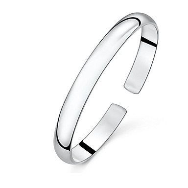 Women's Cuff Bracelet Vintage Cute Party Work Casual Basic Galaxy Fashion Sterling Silver Jewelry Jewelry Gift Daily Casual Costume