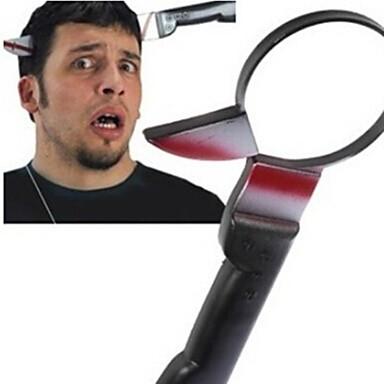 Недорогие Фокусы-через головы ножом Tricky игрушки шутки гаджеты напугать людей забавные игрушки