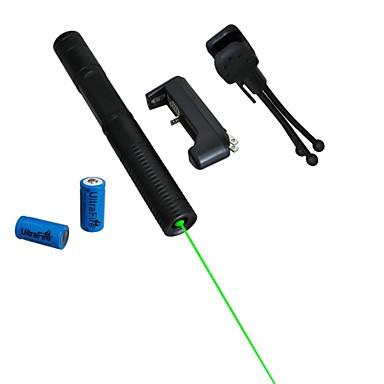LT-08851 verde laser pointer (5 mW, 532nm, 2x16340, culori asortate)