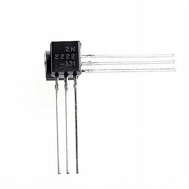 3-контактный триод транзистор 2N2222 TO-92 (50шт)