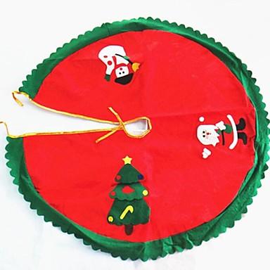 Crăciun copac fusta decorare Santa Claus diametru 90cm de înaltă calitate
