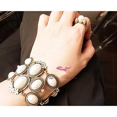 billige Motearmbånd-Dame Perle Vedhend Armband Imitert Perle Armbånd Smykker Til Bryllup Fest Daglig Avslappet