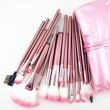 22 Stück Professional Makeup Bürsten Bürsten-Satz- Sonstige Pinsel / Nylon Pinsel / Kunstfaser Pinsel Auge / 1 * Fächerpinsel / 1 *