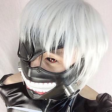 Masker geinspireerd door Tokyo Ghoul Cosplay Anime Cosplayaccessoires Masker Leder Heren Dames nieuw heet