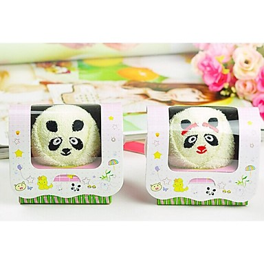 prosop creative ziua de nastere cadou panda formă de fibre (culoare aleatorii)