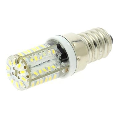 200 lm E14 LED Corn Lights T 58 leds SMD 3014 Warm White Cold White AC 220-240V