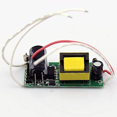 Alimentare Copertă din plastic + PCB + rășină epoxidică impermeabilă 18W 85-265V