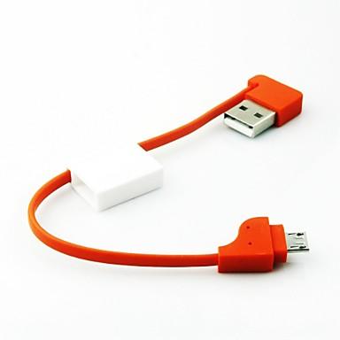 Micro USB 2.0 USB 2.0 Адаптер USB-кабеля Нормальная Кабель Назначение ABS