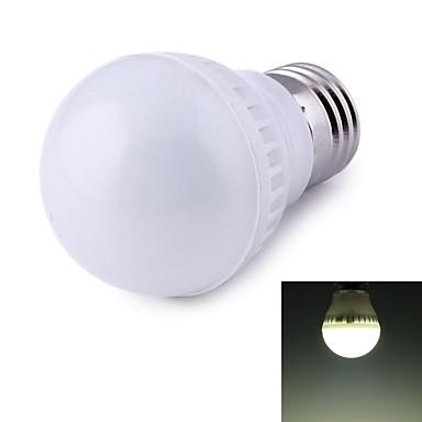 500 lm E26/E27 LED-globepærer 9 leds SMD 2835 Dekorativ Naturlig hvit AC 220-240V