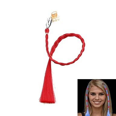 schimbare de culoare a condus luminos panglica de păr pentru reuniuni de partid popi (roșu)