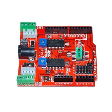 itead zwei Kanäle Schrittmotorantrieb Schild Erweiterungsplatine für Arduino - red
