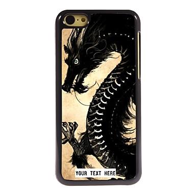 gepersonaliseerde telefoon case - draak ontwerp metalen behuizing voor de iPhone 5c