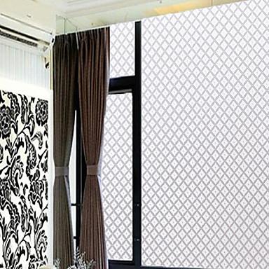 Solide Klassisch Fensterfolie, PVC/Vinyl Stoff Fensterdekoration ...