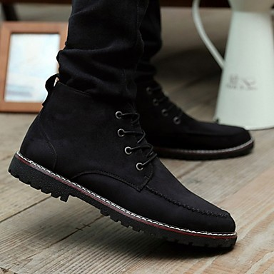 men's shoes casual leather fashion sneakers black / blue