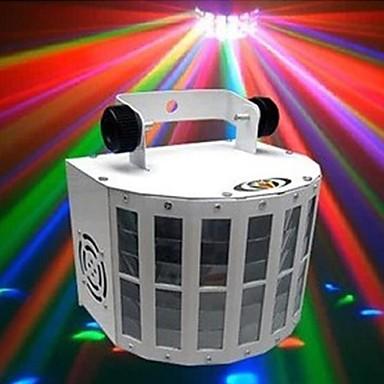 LT-934532 sprachaktivierte Steuerung RGB-Farbe LED Bühnenlicht-Laser-Projektor (220v.1xlaser projetor)