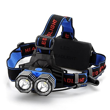 4 Stirnlampen LED 1600lm 4.0 Beleuchtungsmodus rutschfester Griff Camping / Wandern / Erkundungen / Radsport / Jagd
