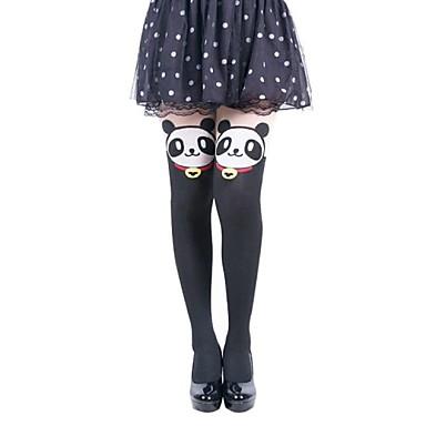 vrouwen panda jacquard cartoon leggings