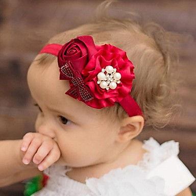 460853ea3 6pcs-pack newbron niña encantadora flor niño diadema vincha elástica para  niños accesorios para el