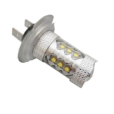 H7 Auto Leuchtbirnen 10W LED High Performance / Integrierte LED 1600lm LED Nebelscheinwerfer