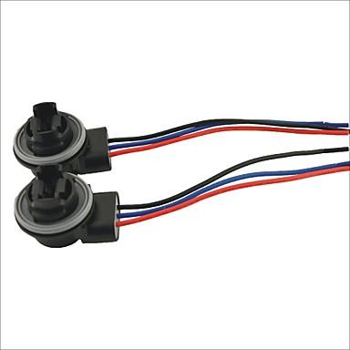 3157 Buchse Auto Lampenfassung Adapter - 2 Stück