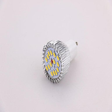 GU10 Spot LED MR16 15 SMD 5630 650 lm Blanc Chaud AC 85-265 V