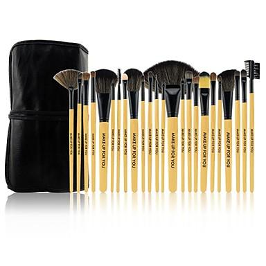 Makeup børster Profesjonell Børstesett Pony børste / Nylon Børste / Syntetisk hår Begrenser bakterier Stor Børste / Middels børste