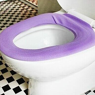 şeker renkli tuvalet mat (rastgele renk)