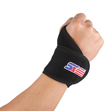 Handgelenkstütze Hand & Handgelenkschiene für Wandern Jogging Laufen Unisex Outdoor Verstellbar Atmungsaktiv Dehnbar Sport Draussen Gummi