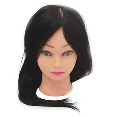 salon de coafura cap manechin de sex feminin cu peruci lungi drepte