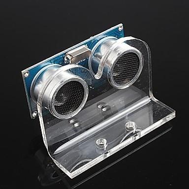 Ultraschallmodul hc-SR04 Distanzmesswandler Sensor und Halterung für Arduino